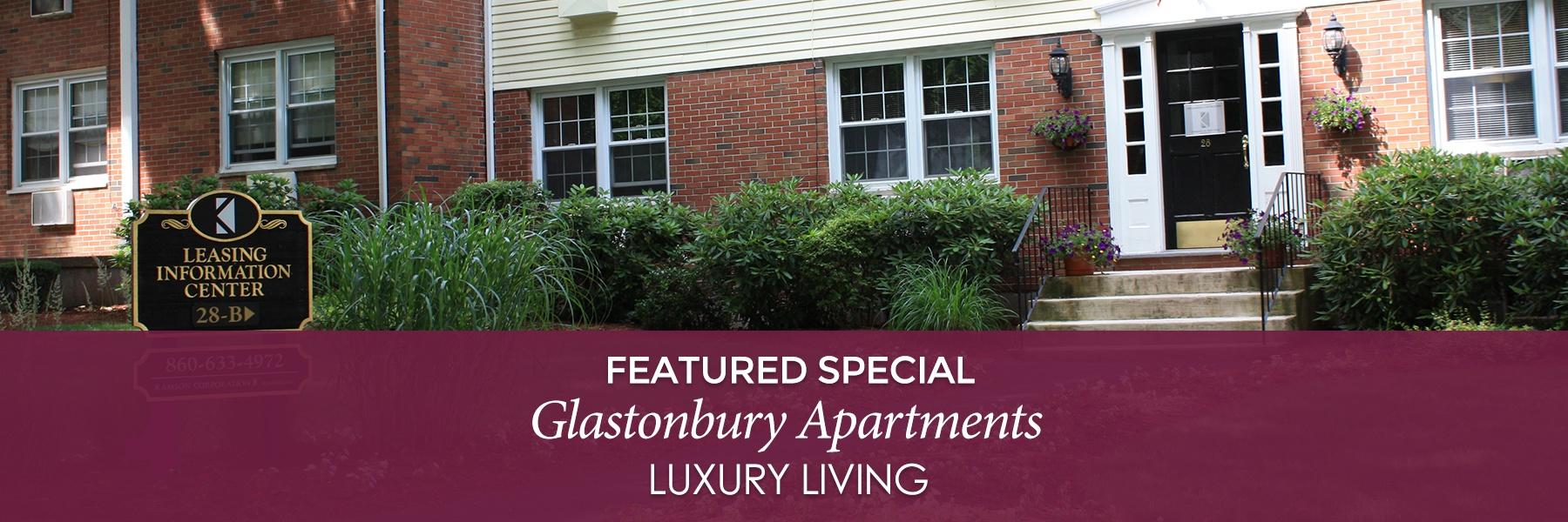 Glastonbury Centre Apartments For Rent in Glastonbury, CT Specials